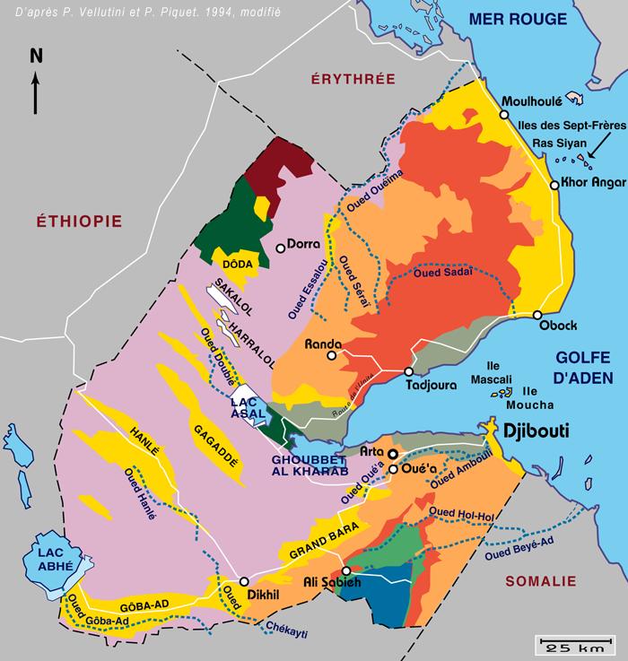 Plan De Djibouti Ville